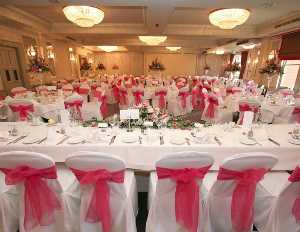 Wedding Breakfast at Pendley Manor