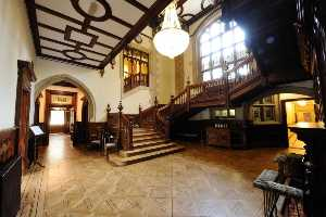 Hall and Stairs at Pendley Manor