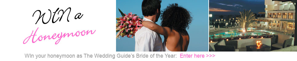 Win a honeymoon as Bride of the Year